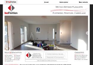 Réalisation site internet - Portfolio agence de communication web