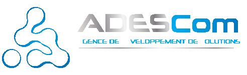 Logo ADESCom - Agence de communication - Webmarketing, referencement naturel (SEO) et payant (SEM) - Drôme (26)