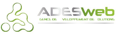 Logo ADESWeb - Agence web - Création de site internet - Developpeur web indépendant Drôme (26)