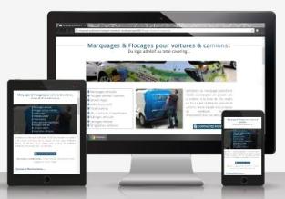 Présentation de notre réalisation site web responsive Signo 69
